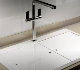 Carron sink and tap